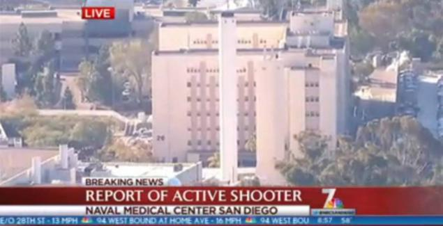 Naval Medical Center San Diego active shooter