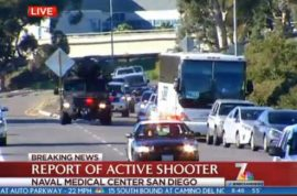 Why and how? Naval Medical Center San Diego active shooter reported