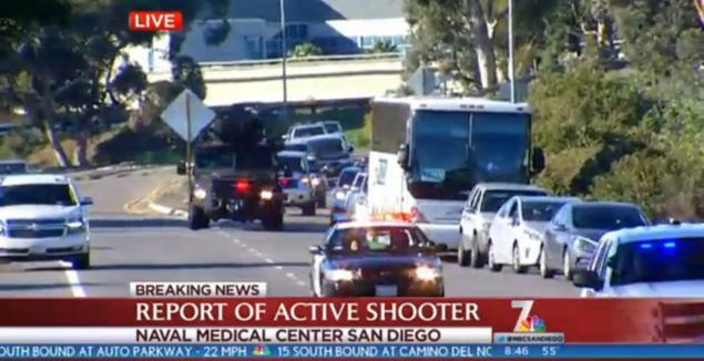 Naval Medical Center San Diego active shooter