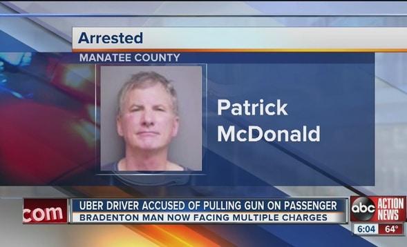 Patrick McDonald Uber driver