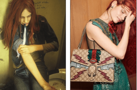 Gucci S/S 2016 Christiane F ad campaign: Glamorizing addiction?