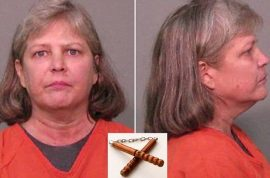 Sondra Earle Kelly beats husband with nunchucks after refusing to make love to her