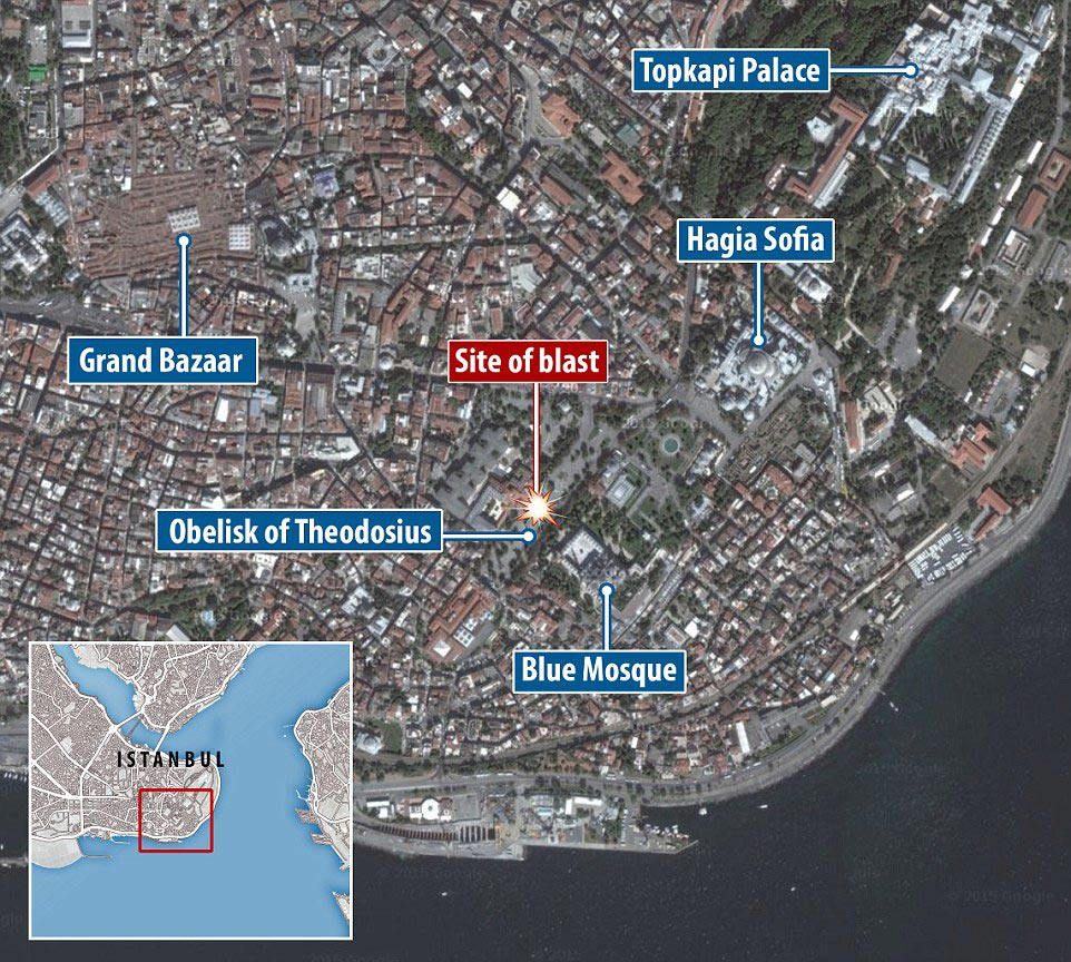 Female Syrian suicide bomber kills ten in Istanbul