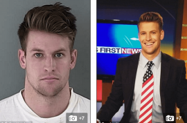 Did John William Holland KMVT Idaho TV weatherman rape dinner date?