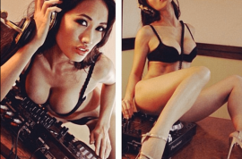 Angie Vu photos: Jailed Playboy Playmate turns to bible to ward off lesbian impulses