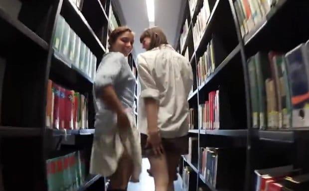 Humboldt University lesbian library video