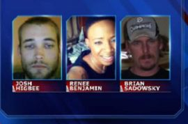 Cedric Ford victims: Josh Higbee, Renee Benjamin, Brian Sadowsky