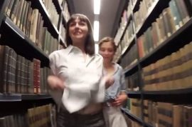 NSFW Video: Humboldt University lesbian library romp leads to lawsuit
