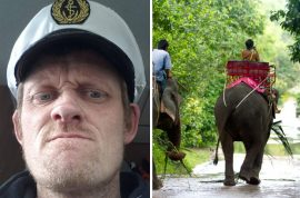 Video: Gareth Crowe gored to death by Thai elephant in front of daughter