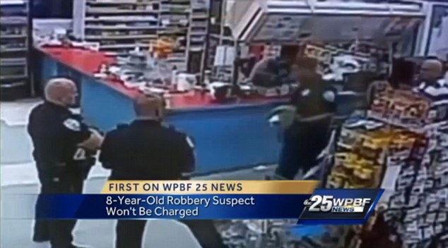 Florida boy 8 tries to rob grocery store with loaded gun
