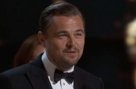'No more Corporate greed' Leonardo DiCaprio Oscar win, slams the hand that feeds him