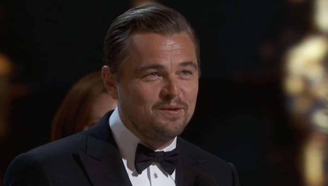 Leonardo DiCaprio Oscar win