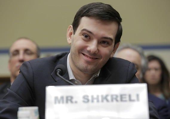 Martin Shkreli house hearing