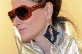 'That's my tiara' Stacy Engman diva art curator bites passenger on plane