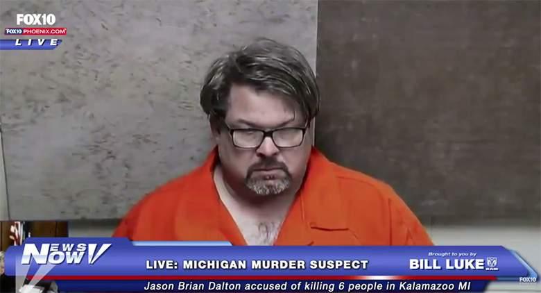 Jason Dalton court arraignment