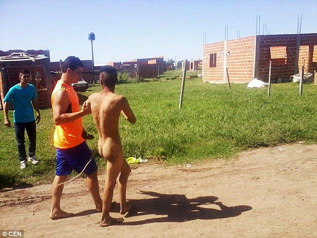 Argentinian man caught trying to rape 8 year old girl
