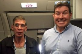 'Get on the TV' Ben Innes selfie with Seif Eldin Mustafa EgyptAir hijacker