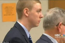 'I only fondled her' Brock Turner Stanford swimmer guilty of raping unconscious woman
