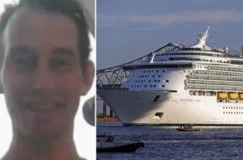 'Was arguing with mom' David Mossman Royal Caribbean cruise ship search suspended