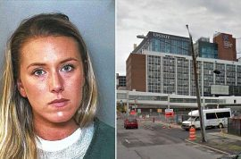 Kristen Johnson Syracuse nurse turns in license after taking photo of patient's penis