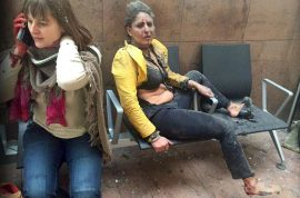 Nidhi Chaphekar air hostess is the face of Brussels attack defiance