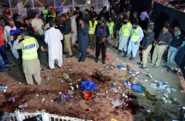 Photos: Pakistan Lahore Park bomb blast. Who and why?