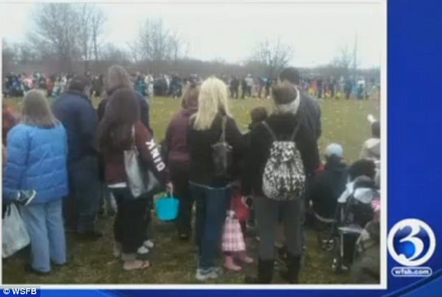 Parents ruin Connecticut Easter egg hunt
