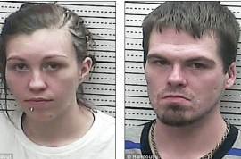 Brittany Pennington and Jonathan Howard caught having hot sex at Hardee's carpark