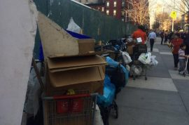 'You're too smelly' Sonia Gonzalez homeless hoarder possessions thrown out