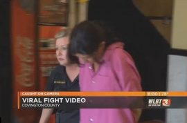 Watch: Angela Welborn Mississippi mom helps teen daughters beat up rival