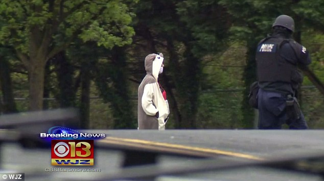 Baltimore TV station evacuated
