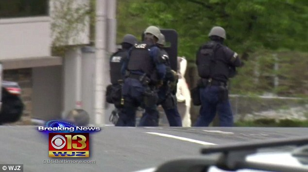 Baltimore TV station evacuated