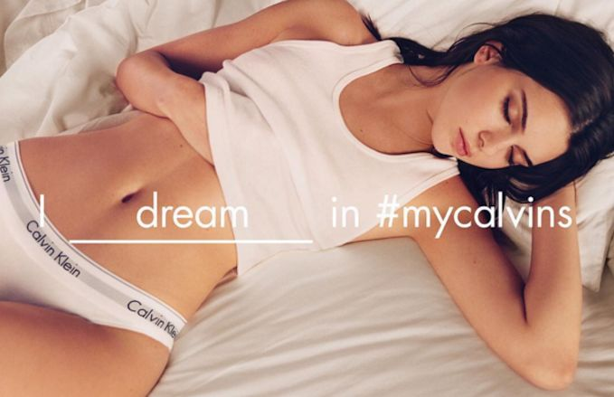 Calvin Klein Kendall Jenner ads