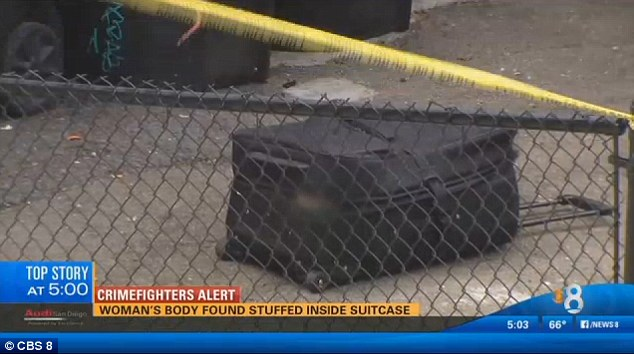 Girls body found suitcase San Diego hotel