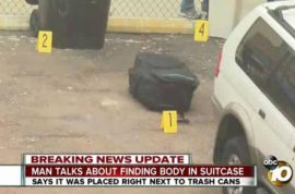 Who and why? San Diego girl's body found stuffed in suitcase near Chadwick hotel