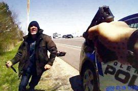 'Kill me, Kill me!' Javier Aleman homicide fugitive begs for suicide by cop
