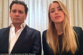 'We're still above the law' Johnny Depp and Amber Heard apology video