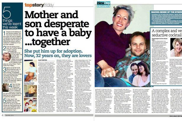 Kim West UK mom to marry son