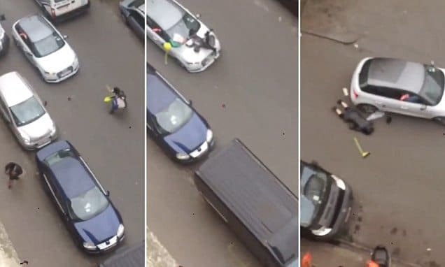 Molenbeek Muslim woman run over