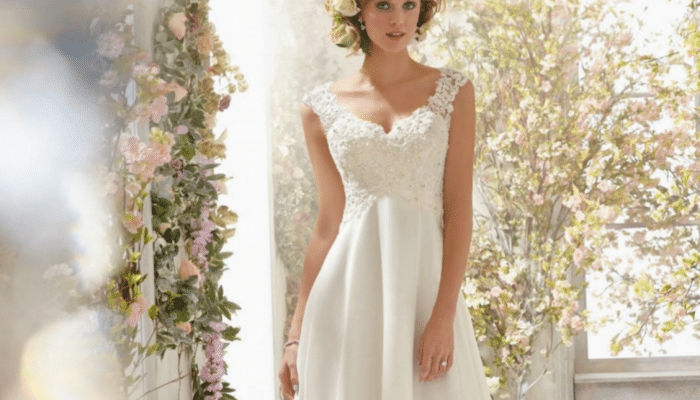 Has Short and Chiffon Wedding Dresses come back in Style?