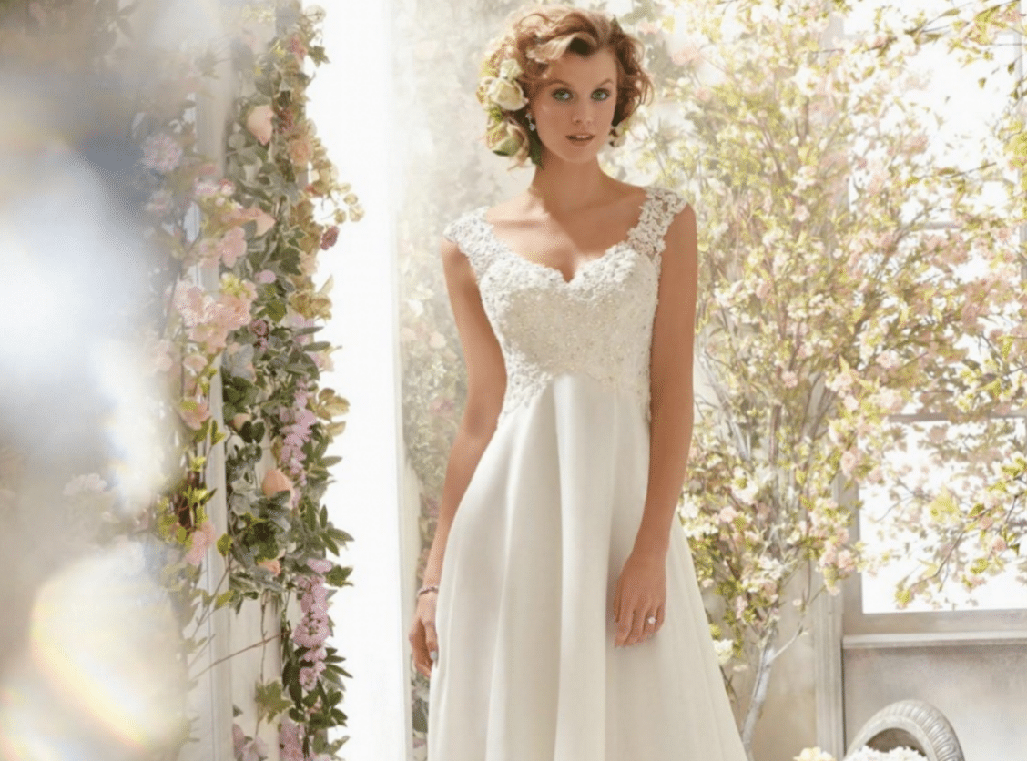 Short and Chiffon Wedding Dresses