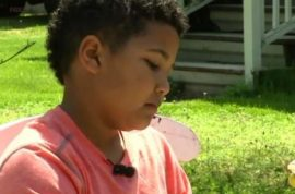 $17K, Tristin Jacobson, 9 year old starts lemonade stand to pay for his adoption