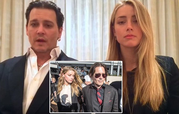 Amber Heard Johnny Depp divorce