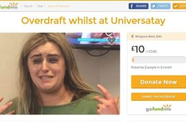 'Booze, clubs, trips' Emma McCormick spends student loan partying sets up gofundme page