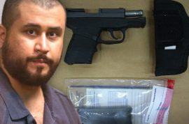 $5000 bidding: George Zimmerman auctions gun he killed Trayvon Martin with