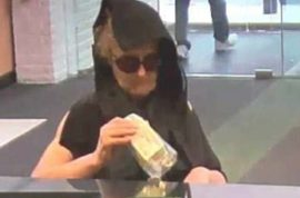 NJ hooded granny bandit wanted by cops: 'I held up 3 banks in 2 days'