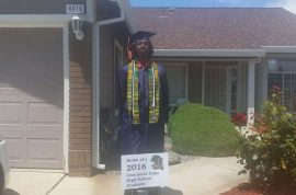 'I'm a descendant of slaves' Nyree Holmes black student kicked out of school graduation for wearing traditional African stole