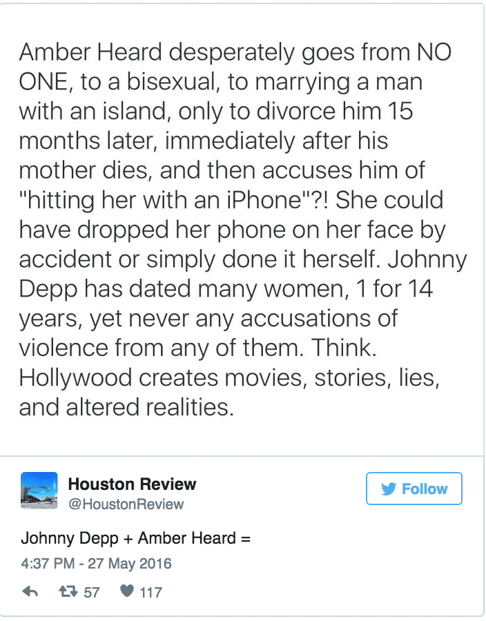 Johnny Depp domestic abuse