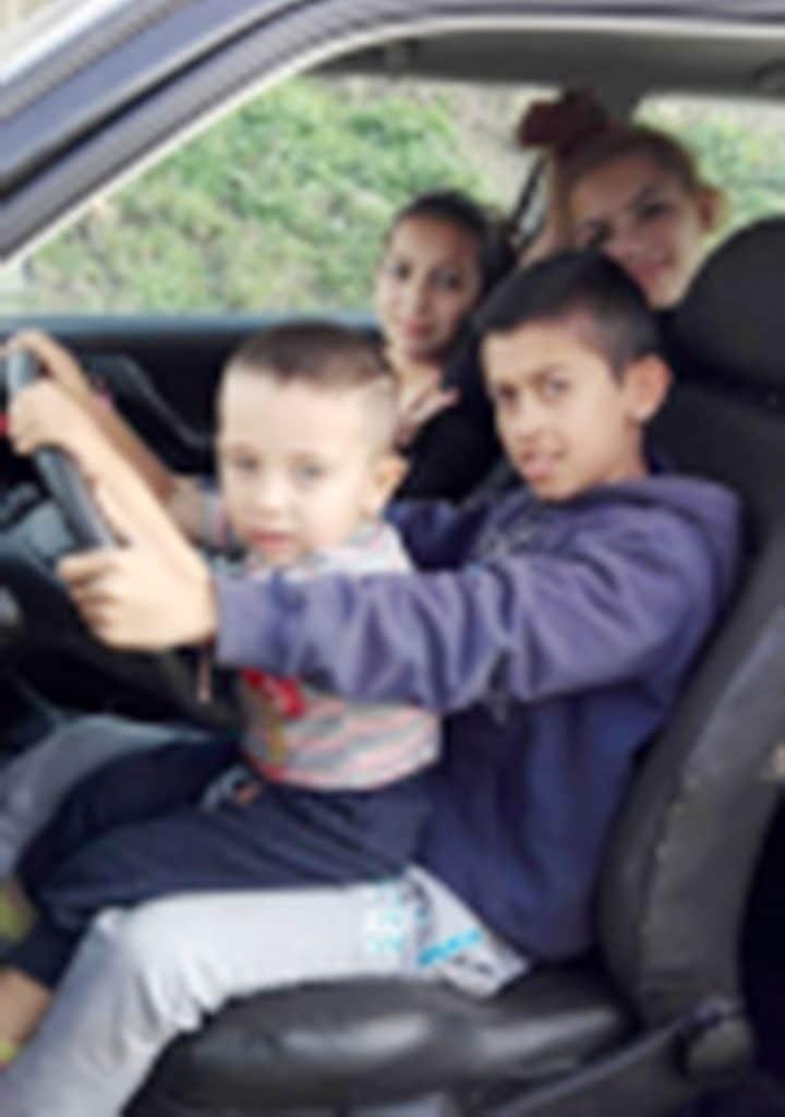 Three year old Bulgarian boy snorting cocaine