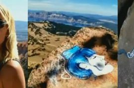 Casey Nocket photos: Unremorseful Graffiti artist banned after vandalizing national parks